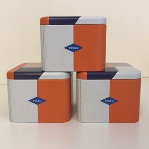 💥SALE-Fossil Tin Boxes (3)
